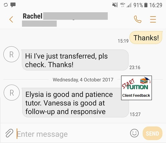Review from Rachel: Vanessa is good at follow-up and responsive.